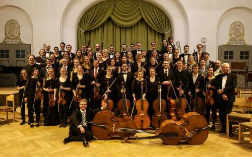 Das MiO beim Konzert HUNGARY FOR MUSiC mit dem Solisten Gerold Huber