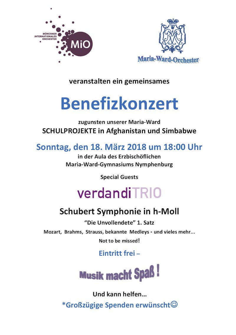 BENEFiZKONZERT April 2018